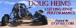 Doug Heim's Cutting Edge Performance found at DTSFab.com dune and mini buggy fabrication supplies and parts with DTSFab.com member discounts.